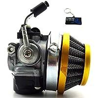 STONEDER Filtro de Aire para carburador DE 14 mm Estilo Dellorto SHA para Targa LX TTT