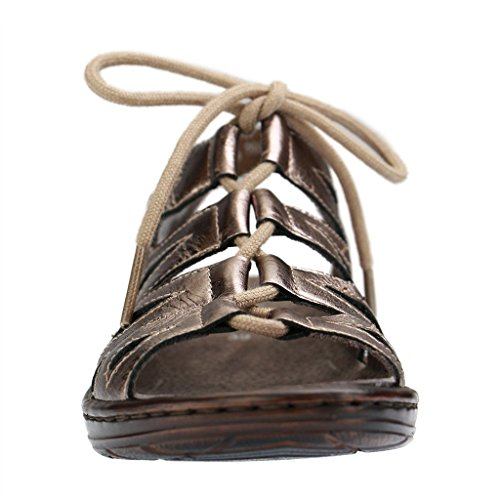 ara, Scarpe stringate donna Gold/Metallic