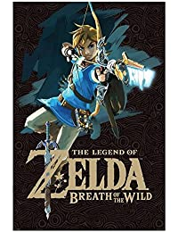Zelda The Legend Of Póster de Breath Of The Wild