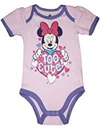 Disney Minnie Mouse Baby Girls Bodysuit Dress Up Outfit 12 Months