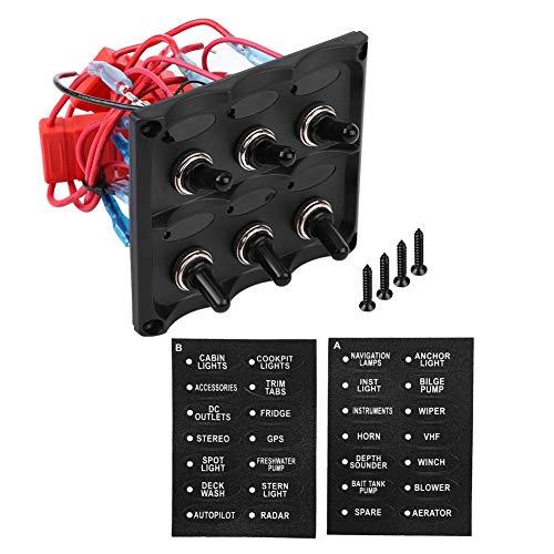 Panel de Interruptores de Barco