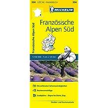 Michelin Französische Alpen Süd: Straßen- und Tourismuskarte 1:150.000 (MICHELIN Localkarten)