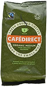 Cafédirect Fairtrade Organic Roast & Ground Coffee 227g (Pack of 2)