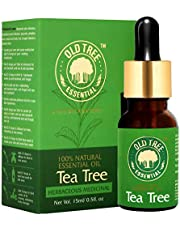 Old Tree Tea Tree Essential Oil for Skin Hair and Acne Care
