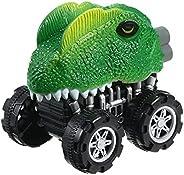 Eookall Children's Day Gift Boys Collectible Cute Animal Model Dinosaur Panda Vehicle Mini Elephant Bear T