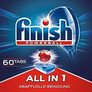 Finish All in 1, Spülmaschinentabs, Spülmaschine, Geschirr, Geschirrspüler, Spülen, Reinigung