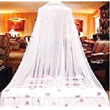 Mosquito NET Bed For Twin And Queen Size, Large Bed Curtains, White Mosquito Netting Easy Installation & Carry Bag
