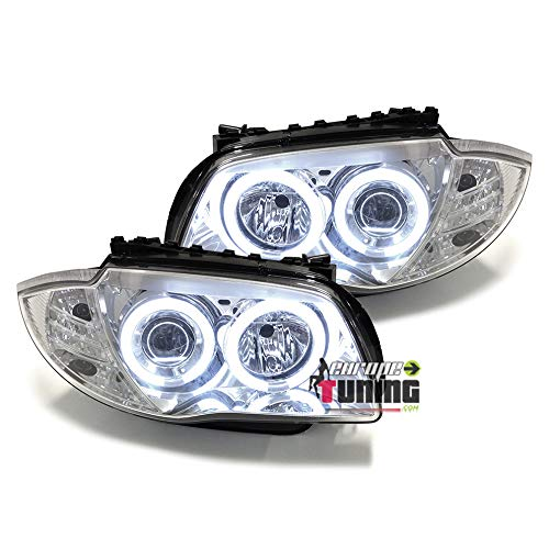 europetuning - 00594 - PHARES FEUX AVANTS CCFL ANGEL EYES SERIE 1 E81 E82 E87 E88 2004-2011