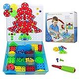 Mosaico Puzzles Infantiles Rompecabezas 3D 96 Piezas Bricolaje Bloques Juegos de Construccion para Niños 3+