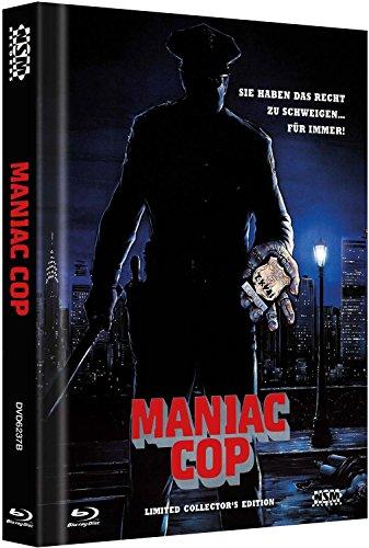 Bild von Maniac Cop - uncut [Blu-Ray+2 DVD] auf 666 limitiertes Mediabook Cover B [Limited Edition]