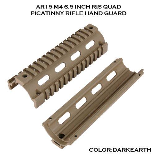 Einfache Installation, professionelle Modell Quad-Rail-System Picatinny Schiene RIS Handschutz AR-15/M4 usw. montiert werden (die n?chste Generation Unterst?tzung) DE (Japan-Import) (Ar Quad Rail)