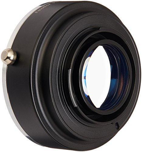 Fotodiox Pro Excell +1 Lens Mount Adapter with Focal Reducing Light Gathering Optics, Canon EOS Lens to Fujifilm X Mirrorless Camera -