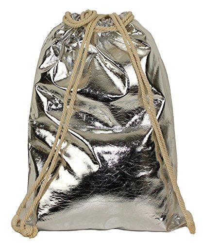 Anush Fashion, Borsa a spalla donna argento