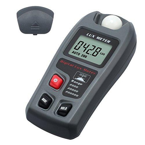 Digital 20000 Fc/200000 luxmeter Photometer beleuchtungsstärke mit hoher Genauigkeit und schnelle Reaktion Data Hold in der Schule Familie...