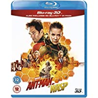 Ant-Man and the Wasp 3D Blu-ray DVD