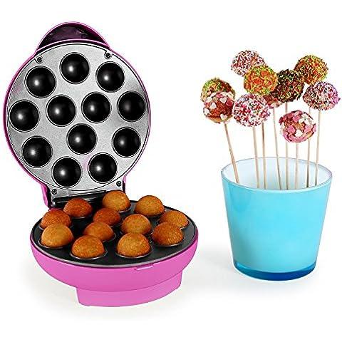 oneConcept Boogie Pop Cake Maker 1300W rosa