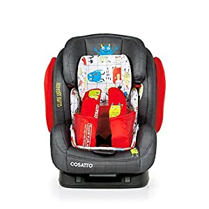 Cosatto Hug Isofix Car Seat Group 123, Monster Mob   10