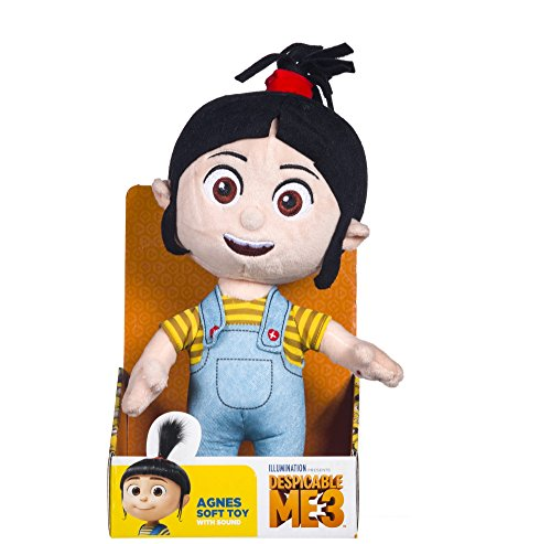 Agnes with Sound Plush - Despicable Me 3 - 29cm 12''