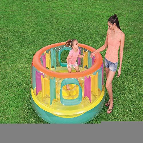 inflatable toys Neue Kleine Haushalts Farbe Trampolin Aufblasbare Spielzeuge, Zelt Spielhaus Trampolin Indoor Schloss Spielzeug Haus, Geeignet Für Indoor-180 * 86 cm A
