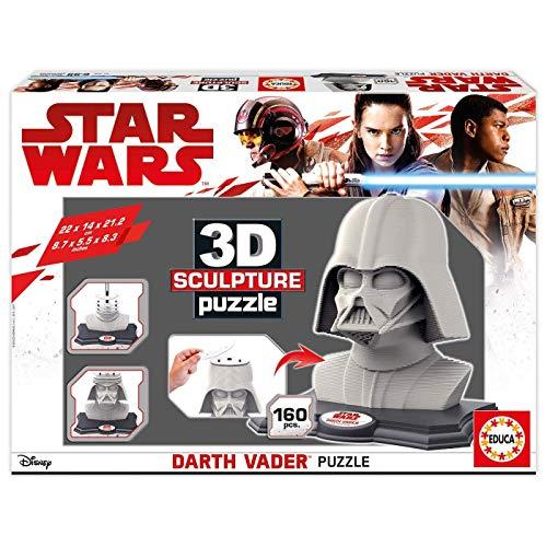 Educaborras Star Wars Puzzle 3D Darth Vader Puzzle