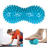 TNP Accessories® Spiky Massage Balls PEANUT SHAPE Trigger Point Massage Ball - Myofascial Ball, Exercise Ball, Lacrosse Ball, Yoga Ball, Pilates Ball, Foot Massage Ball, Hand Massage Ball, Spike Massage Ball, Massage Ball Roller, Spikey Massage Ball Environmental Friendly Plastic, PAH and Phthalates-GAINWELL