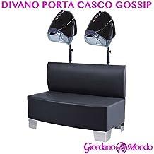 DIVANO PORTA CASCO PER PARRUCCHIERE E BARBIERE GOSSIP ARREDAMENTO PROFESSIONALE CERIOTTI