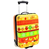 Valise cabine 50 cm Orange Enfant Snowball