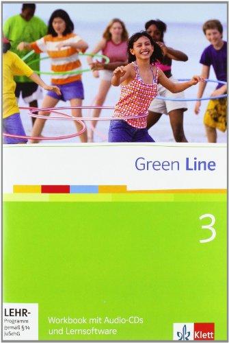 Green Line 3. Workbook mit Audio-CDs und Lernsoftware. 7. Klasse
