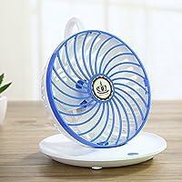 Tofern Turbo-Mini ventilatore da tavolo USB caffè montaggio a parete multiuso fresco, Ultra silenzioso, potente, unità robusta in ABS leggera portatile-Scrivania per cameretta da casa, da cucina, colore: bianco/rosa/blu/verde blu