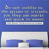 wandaufkleber cars Einmischen Sie sich nicht in die Angelegenheiten von Wizards für Wohnzimmer