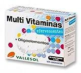 Vallesol Multivitaminas Oligoelemento Tabletas Efervescentes - 24 cápsulas