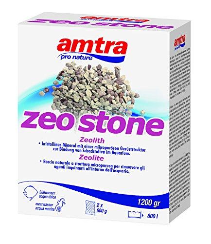 Wave AMTRA Zeo Stone Roche pour Traitement de l'eau d'Aquariophilie 1200 g