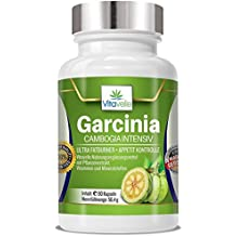 Garcinia Cambogia EXTRA DOSED I Perte de poids I Contrôle l'appétit I Brûle les graisses I 90 capsules, 1 mois