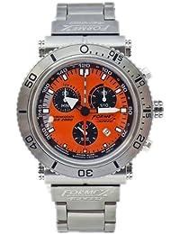 Formex 4 Speed DS2000 20001.3161 - Reloj de caballero de cuarzo, correa de titanio color plata