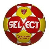 Select Tucana Talent Special Edition Handball - rot/weiß/gelb, Größe #:1