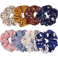 Elastics Chiffon Hair Scrunchies Floral Elastic Bands Bobbles Ponytail Holder Hair Bands Hair Scrunchies Headband