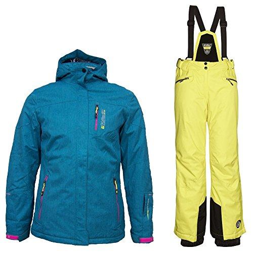 Killtec Peony Jr - Ski Set Kinder Skianzug, Farbe:Türkis;Bitte Größe wählen:176