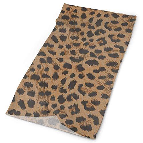 Kostüm Quick Hunde - Art Cheetah Leopard Print Headband Unisex Headwrap Magic Head Scarf Bandana Headwear Neckerchief Quick Dry Hairband Soft Headdress Foulard Face Mask Neck Gaiter