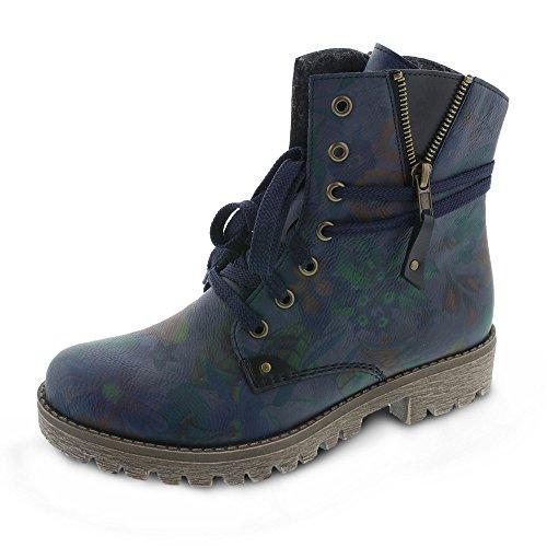 Rieker Boots Blau