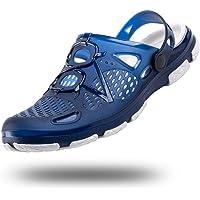 Sabot Homme Femme Plastique Chaussures de Jardin Antiderapante Clogs Slides Été Sandales de Plage Mixte Noir Blanc Bleu…