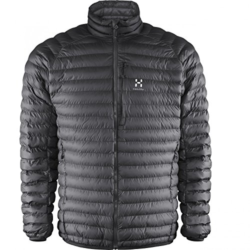 Haglofs Essens Mimic Hooded Outdoor Jacke magnetite