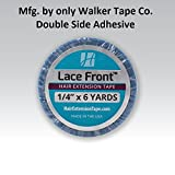 Walker Tape Lace Front 1/4 x6 Yard Extension Tape Roll