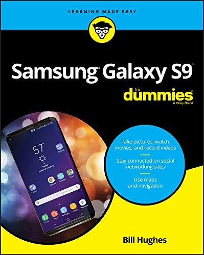 Samsung Galaxy S9 For Dummies (For Dummies (Computer/Tech)) (Dummy-samsung)