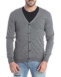 Jack & Jones Men's Cotton Sweater (5712834662501_Grey_XX-Large)
