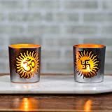Indian Ethnic Spiritual Tealight Candle Home Decor Diwali Gift Decoration for your Home Temple by Casa Decor