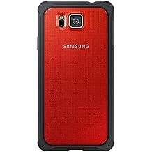Samsung BT-EFPG850BREGWW - Funda para Samsung G850F Galaxy Alpha, color rojo