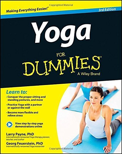 Yoga For Dummies by Payne, Larry, Feuerstein, Georg (2014) Paperback