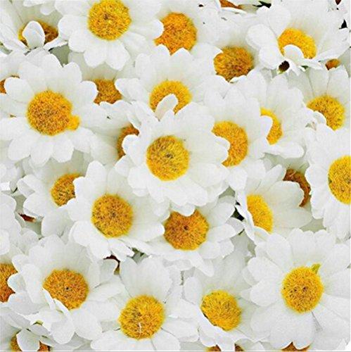 100 x kuenstliche gefaelschte Blumen kuenstliche Blumenkopf