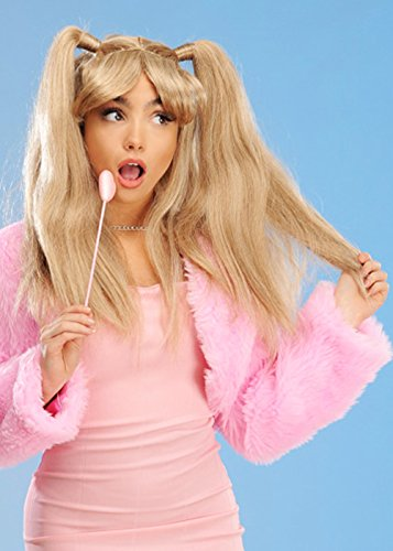 Kostüm Spice Baby - 8in1 Womens 90er Jahre Baby Spice Style Lange Blonde Perücke