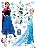 XXL Sticker Eiskönigin Frozen Elsa, Anna und Olaf DK1797